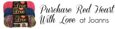 Purchase Red Heart With Love at Joanns