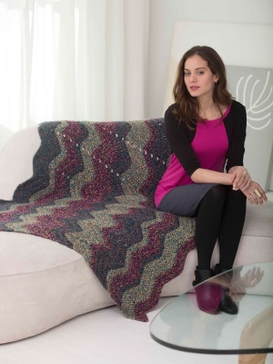 Syncopated Ripple Afghan
