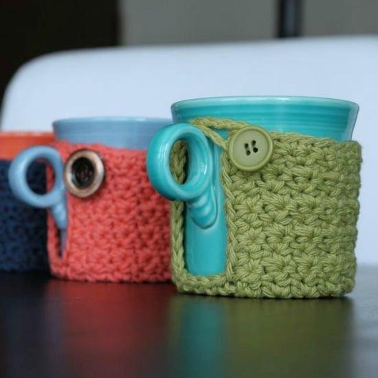 Coffee Cup Cozy Free Crochet Pattern