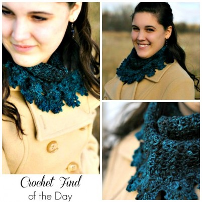 Crochet Find of the Day Free Crochet Cowl Pattern the Evelyn Cowl by Chelsea Marie
