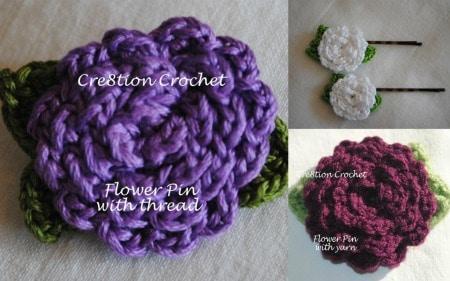 Stitch of Love: Crochet Hair Scrunchies - blogspot.com