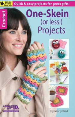 One Skein or Less Project ebook on Leisure Arts