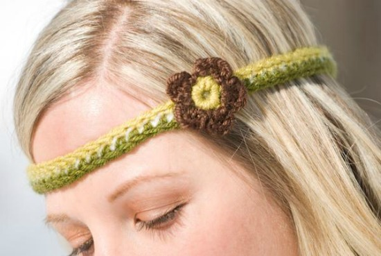 Retro Headband Crochet Pattern