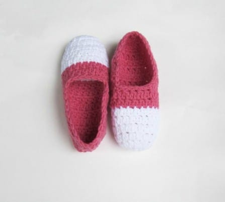 Two Tone Ballet Slippers