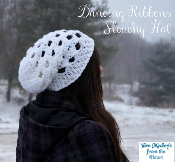 Dancing Ribbons Slouchy Hat