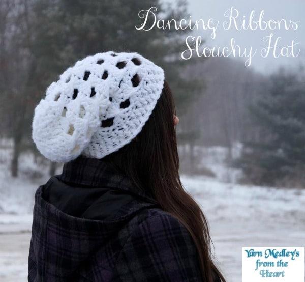 Dancing Ribbons Slouchy Hat