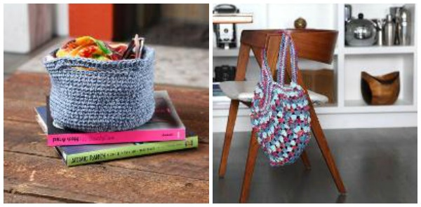 basket and tote bag free patterns with the Mastering Foundation Crochet Chains class on Craftsy